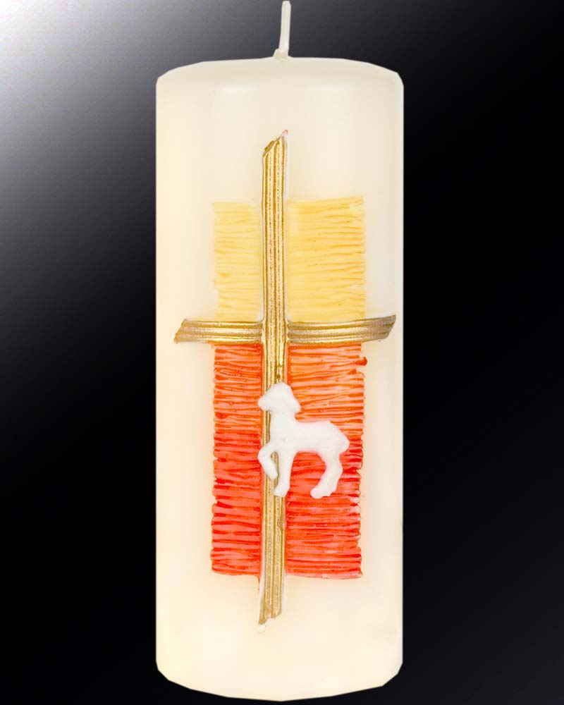 Osterkerze 150 60mm lamm gottes for Osterkerzen modern